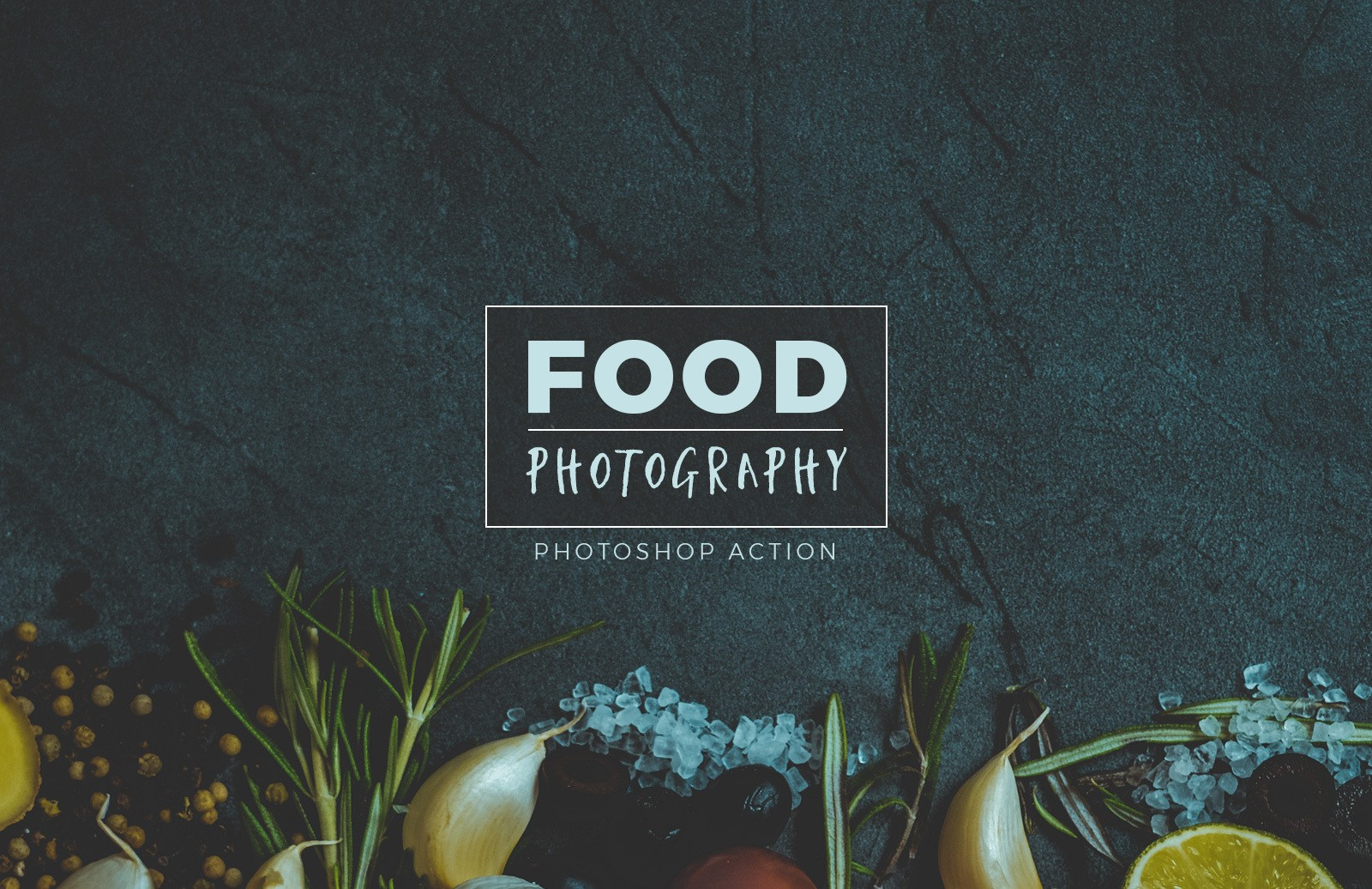 Food Photography Photoshop Action Preview 1