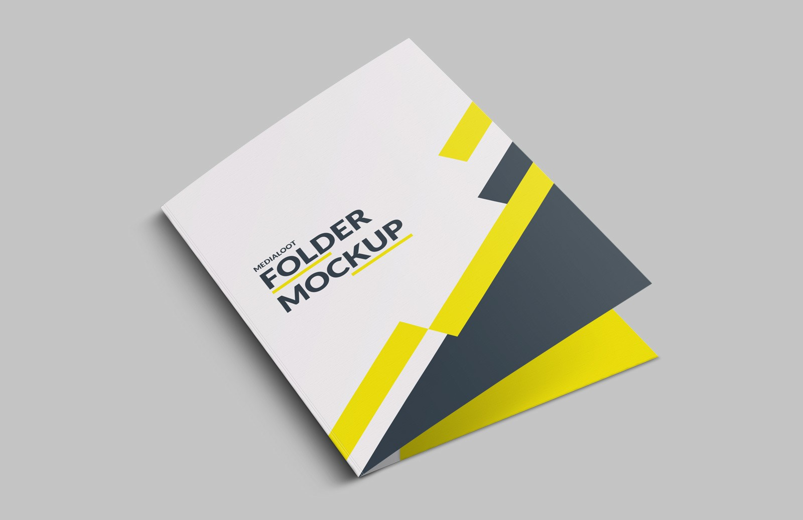 Folder Mockup for Photoshop