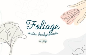 Foliage Vector Backgrounds