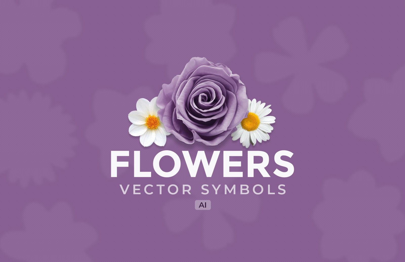 Flowers Vector Symbols Preview 1