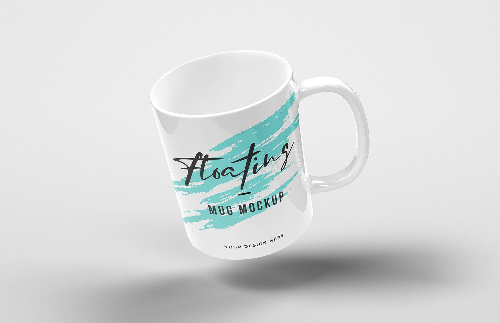 Floating Mug Mockup Preview 1