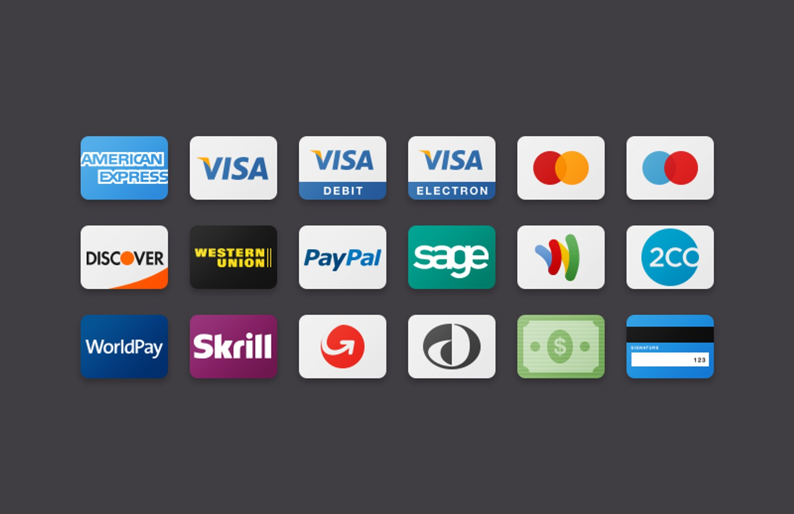 Flat  Payment  Method  Icons 800X518 1