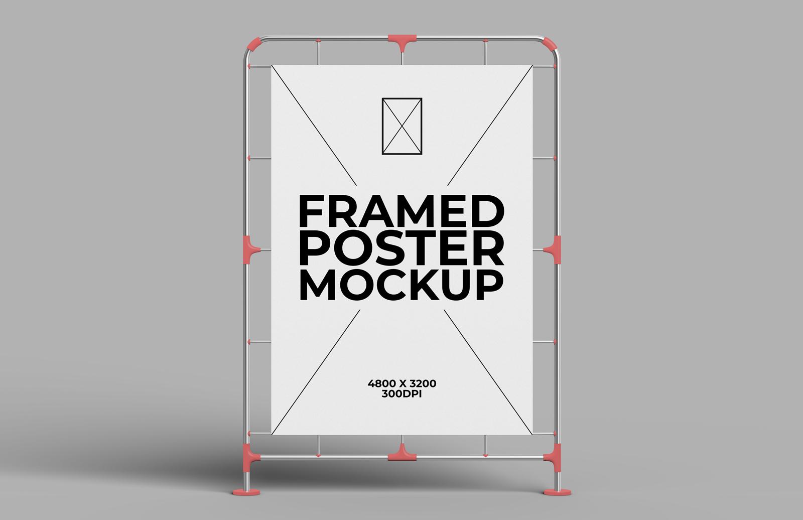 Framed Poster Mockup Preview 1
