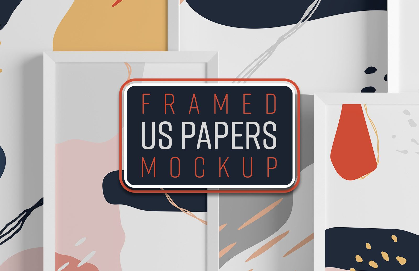 Framed Us Papers Mockup Preview 1