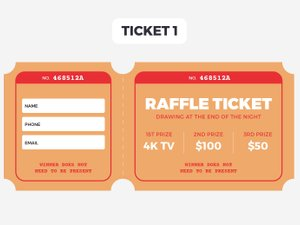Free Raffle Ticket Templates 2