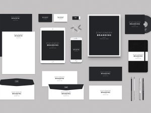 Stationery Branding Mockup Pack 1