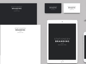 Stationery Branding Mockup Pack 2