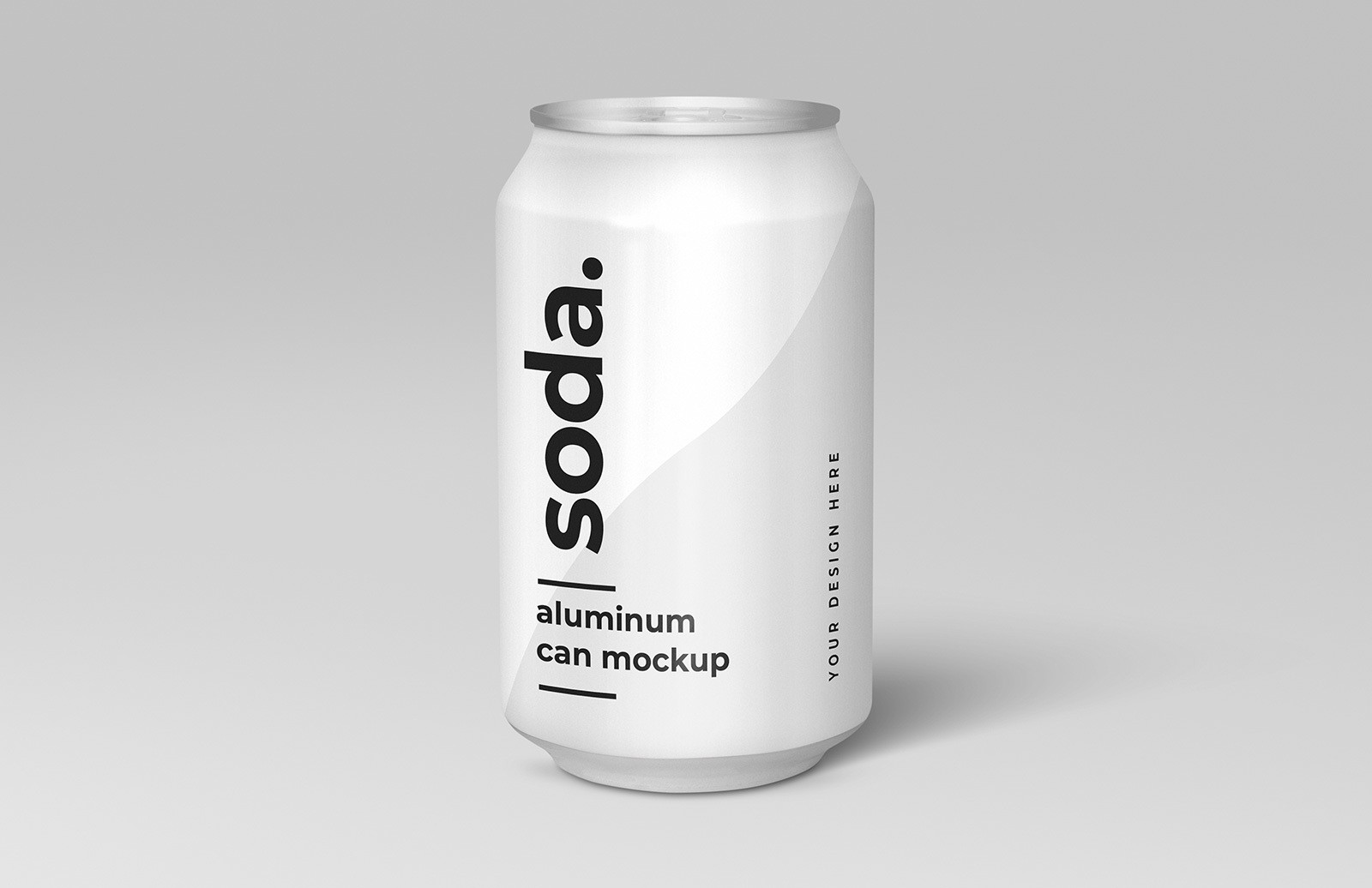 Free Soda Can Mockup Preview 1A
