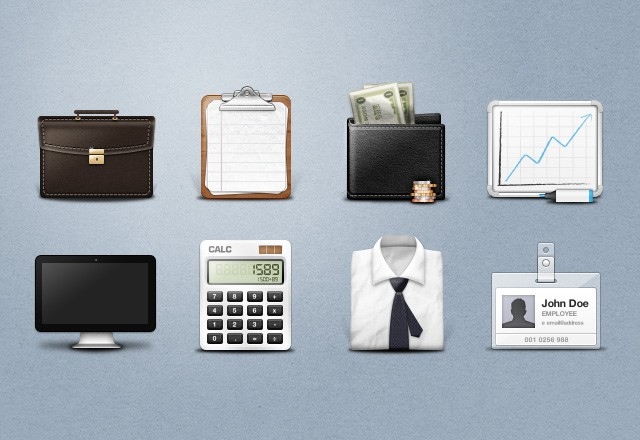 Large Free  Business  Icons  Preview2