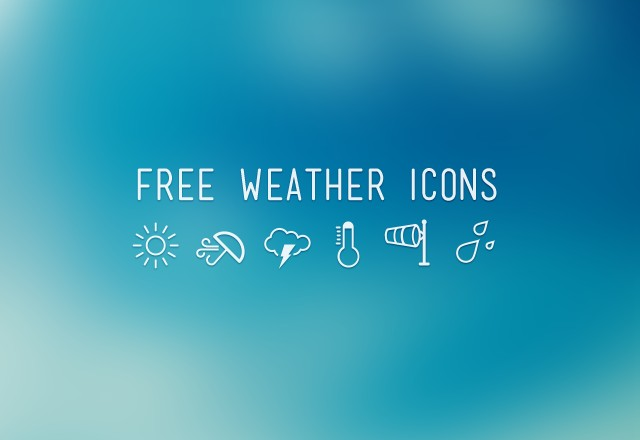Large Free  Weather  Icons  Preview1