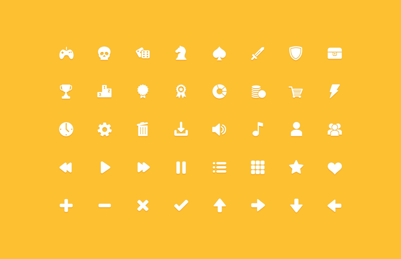 Game GUI Vector Icons 2