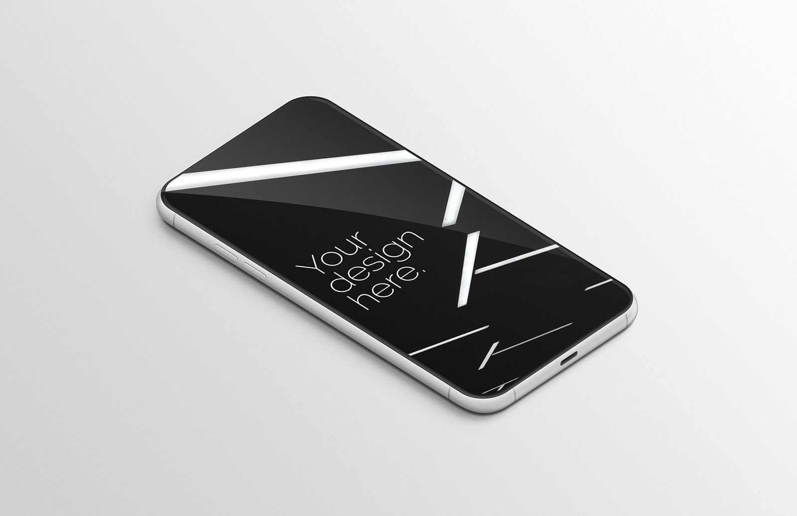 Generic Mobile Device Mockup Preview 1