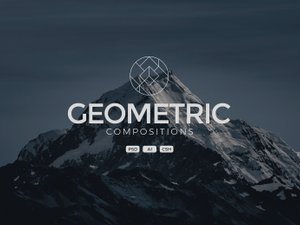 Geometric Compositions - Vector Shapes 1