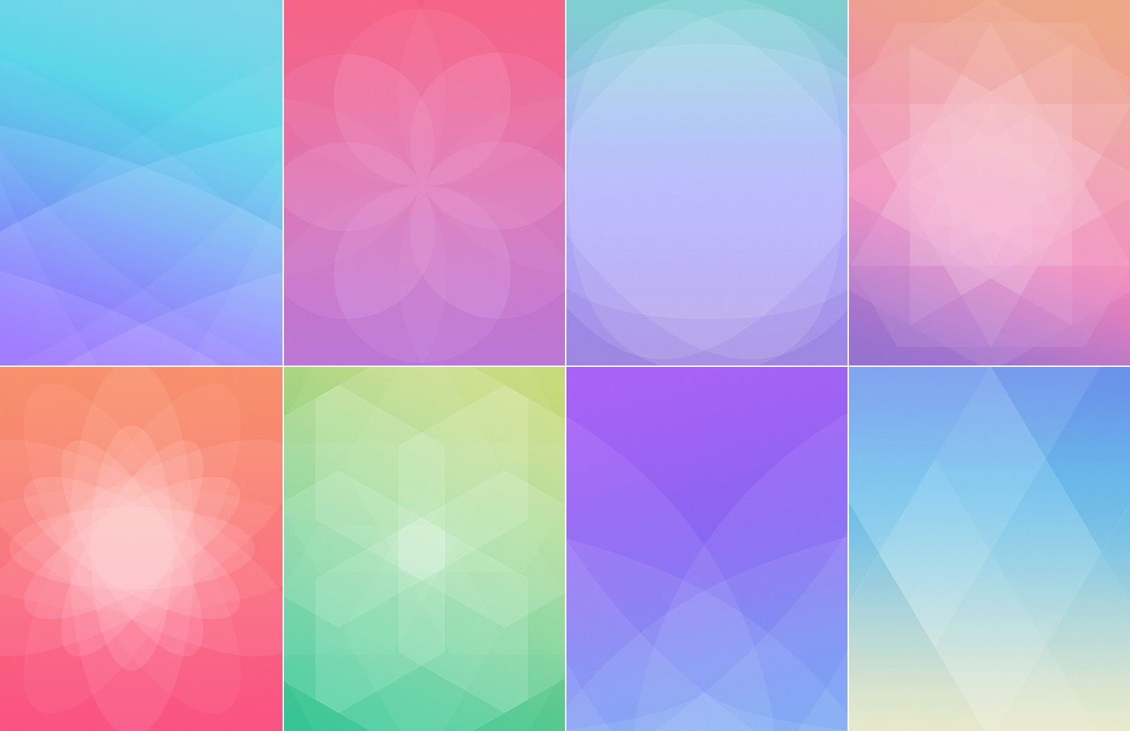 Large Geometric  Gradient  Backgrounds  Preview 4