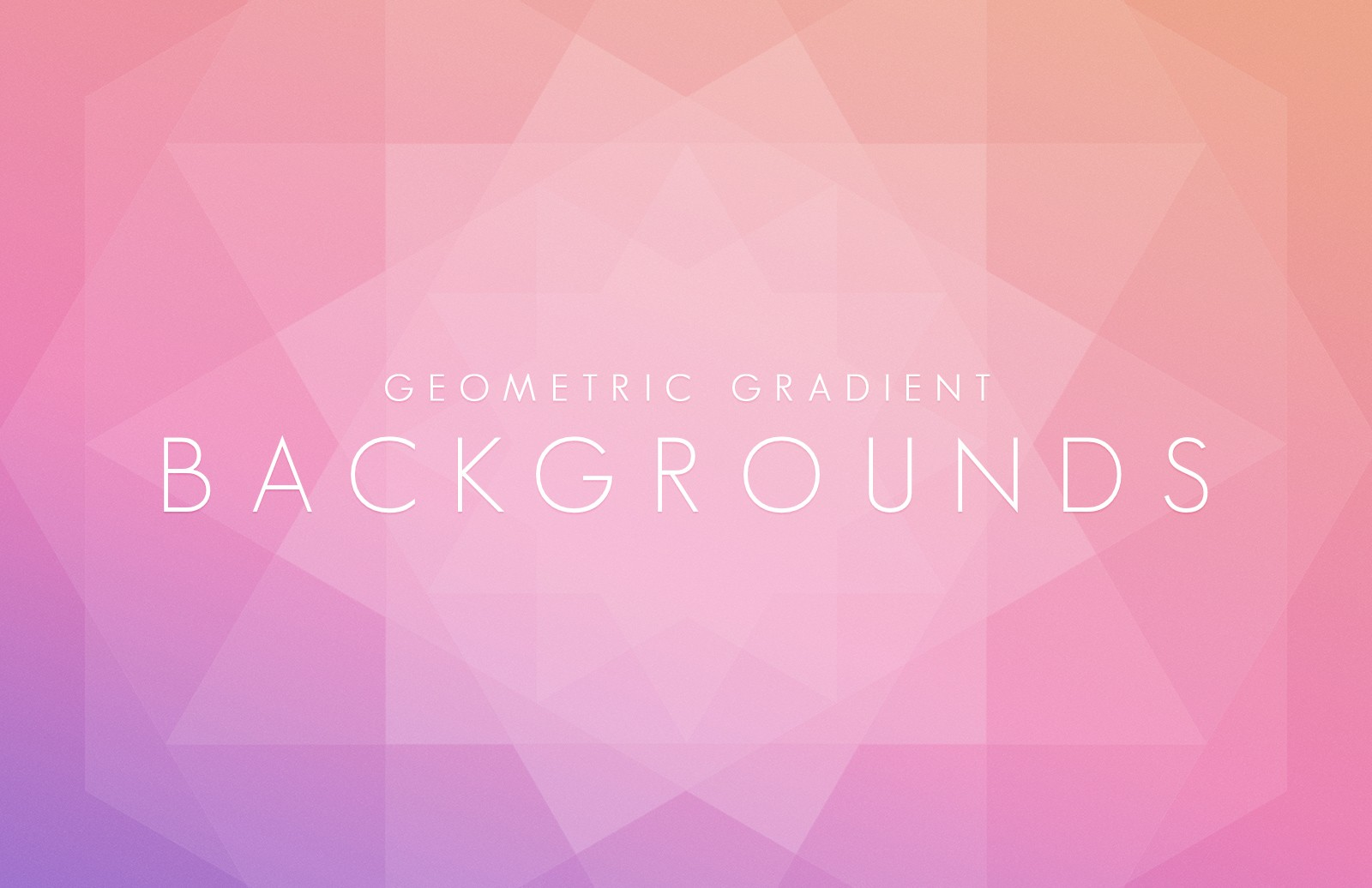 Geometric  Gradient  Backgrounds  Preview 1