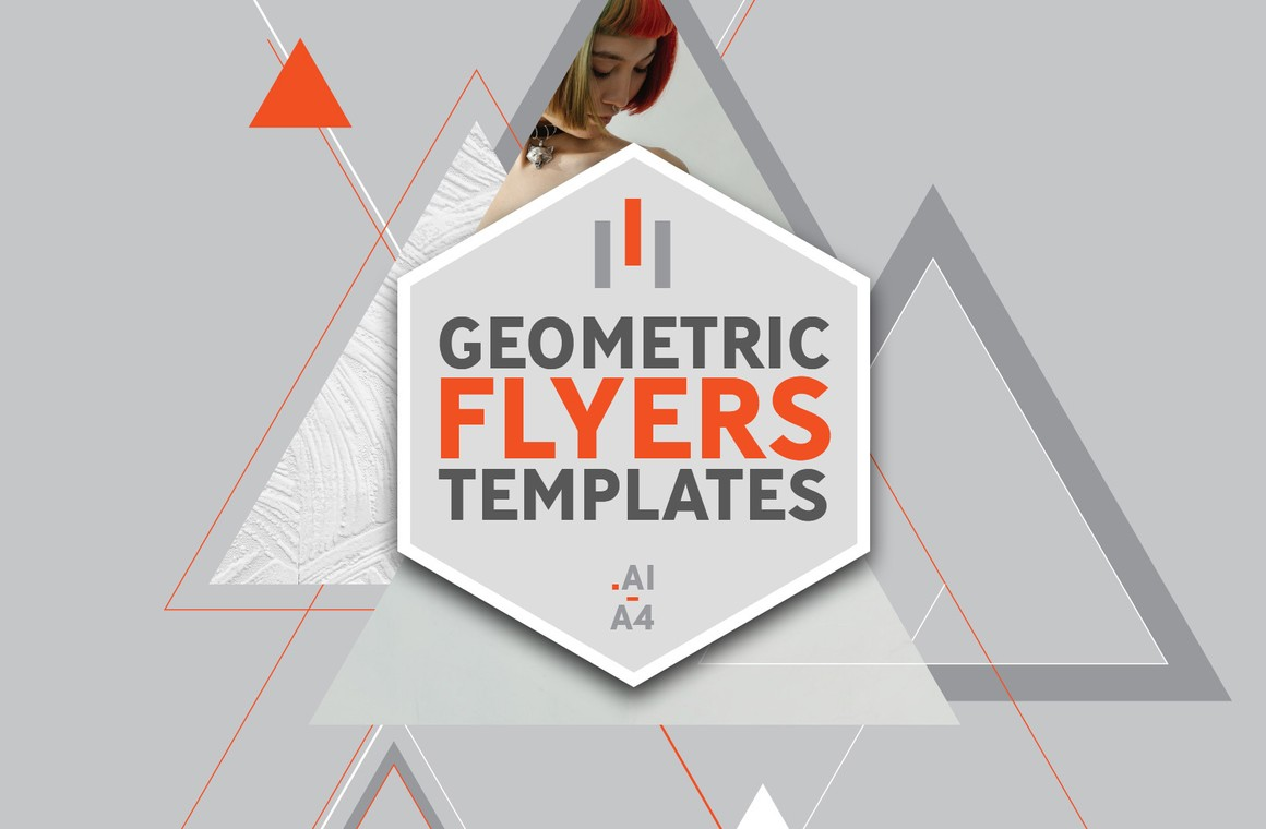 Geometric Flyers Templates