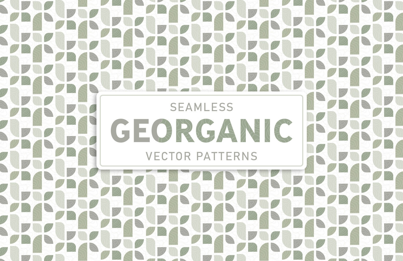 Georganic Vector Patterns Preview 1