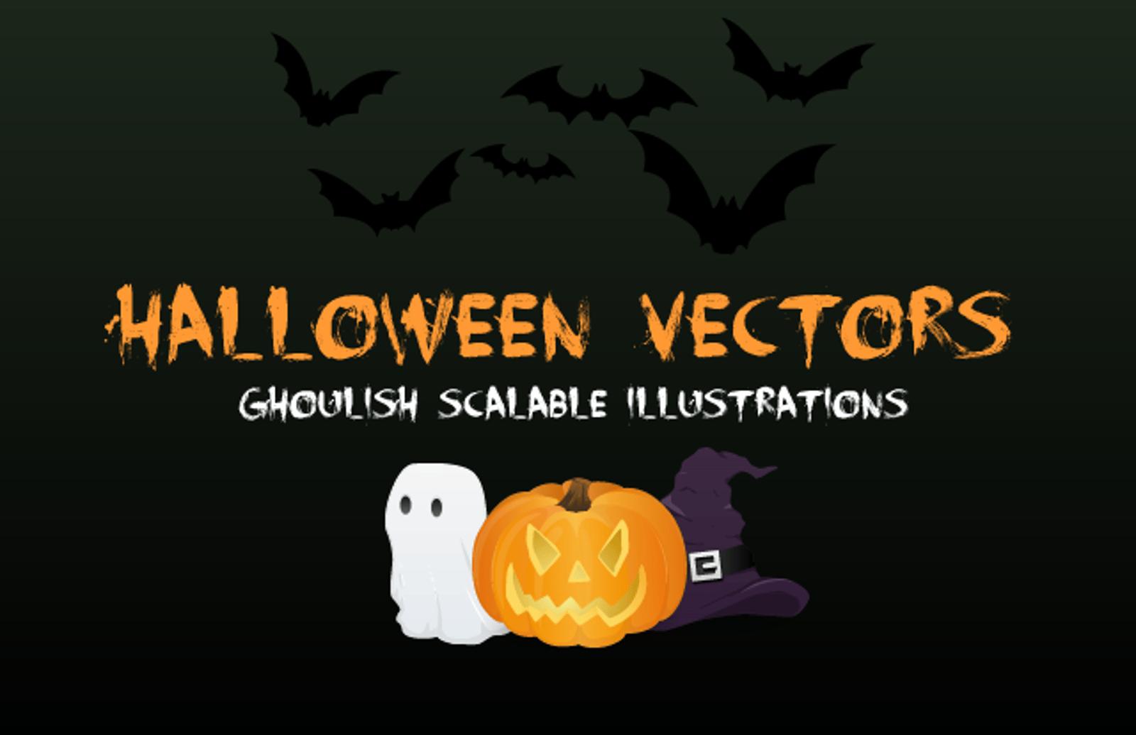 Ghoulish  Halloween  Vectors  Preview1