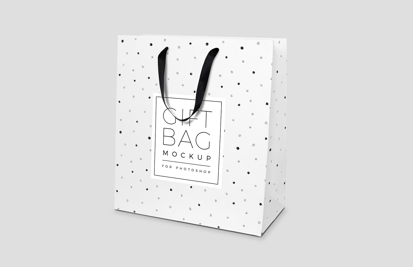 Gift Bag Mockup for Photoshop