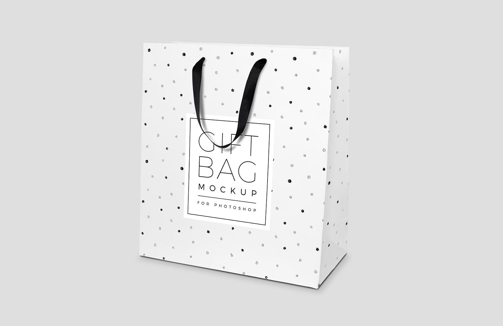 Gift Bag Mockup for Photoshop