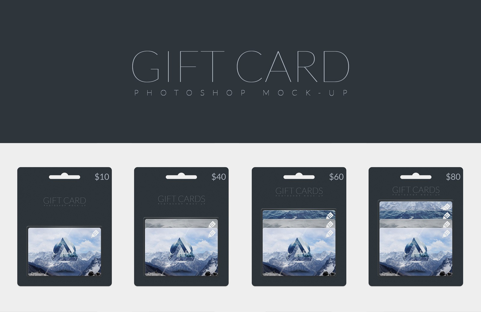 Gift Cards Mockup Preview 1