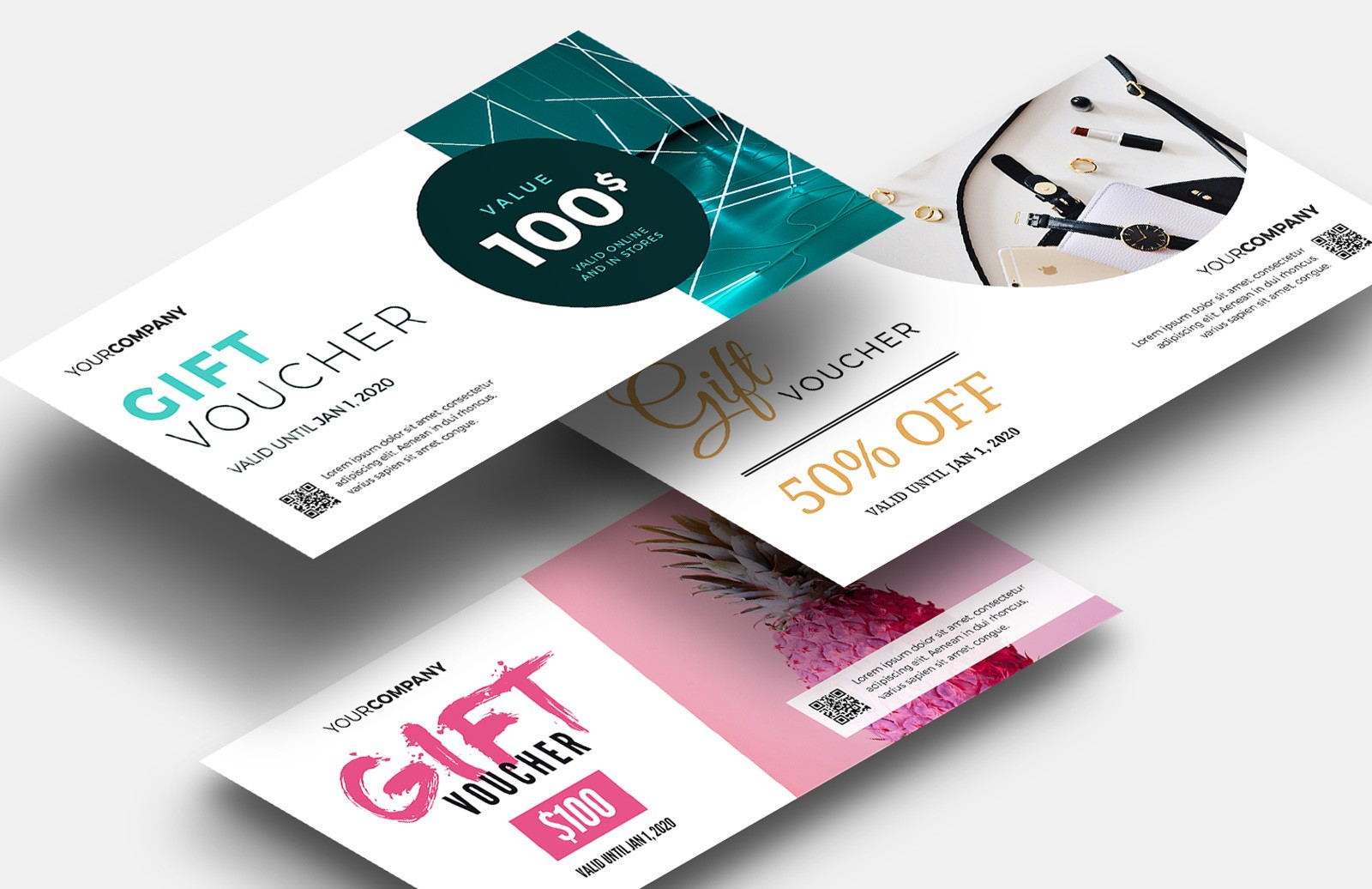 Gift Voucher Templates Preview 1
