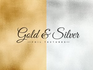 Gold & Silver Foil Textures 1