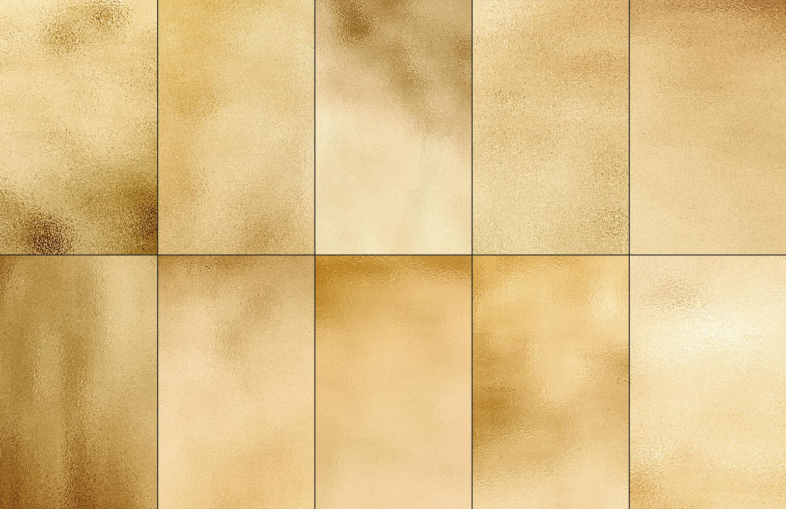 Gold & Silver Foil Textures 2