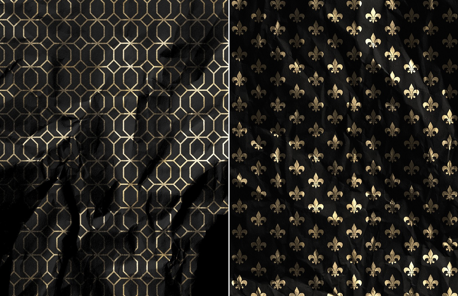 Large Gold  Foil  Paper  Textures  Preview 4