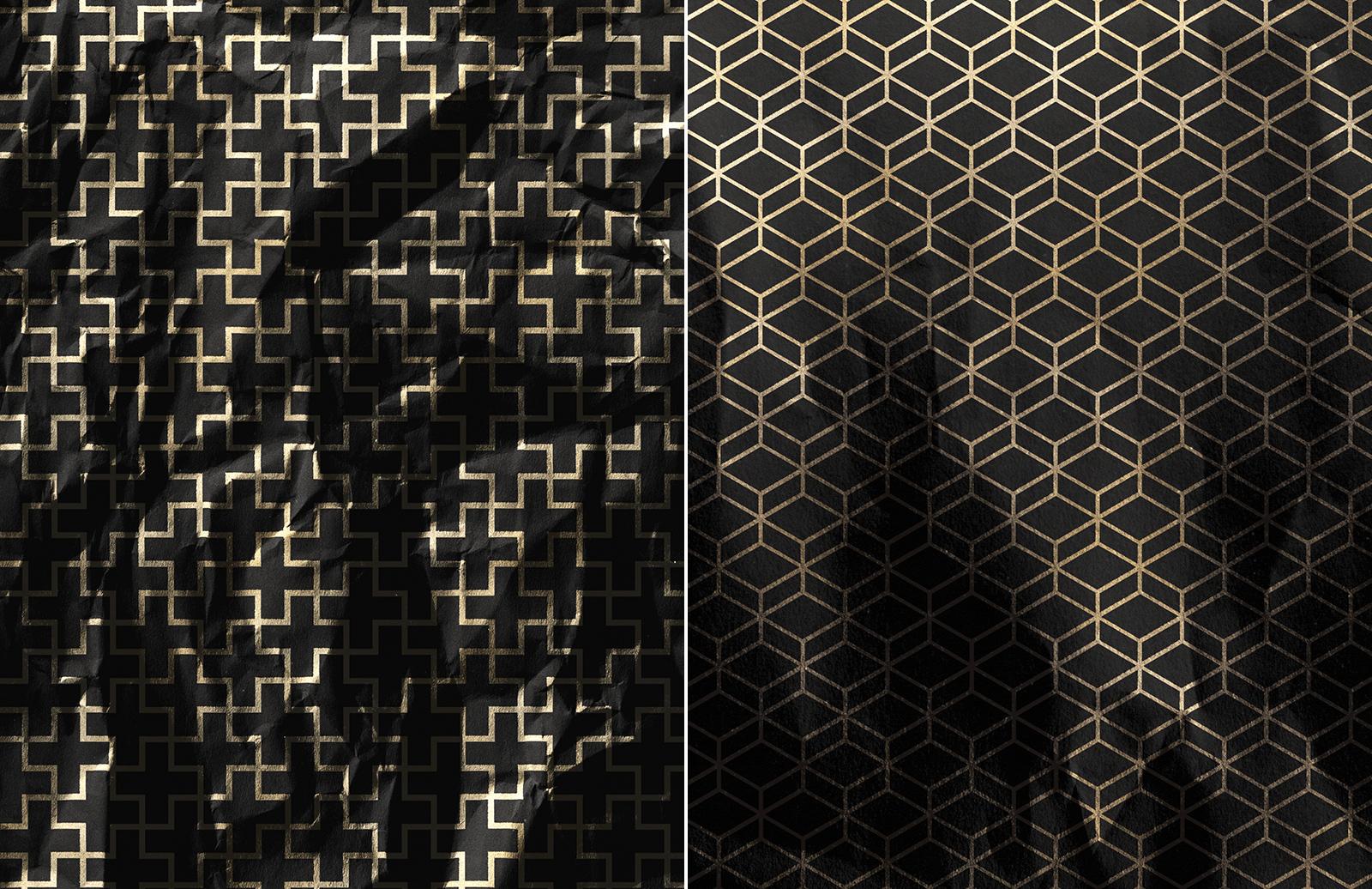 Large Gold  Foil  Paper  Textures  Preview 5