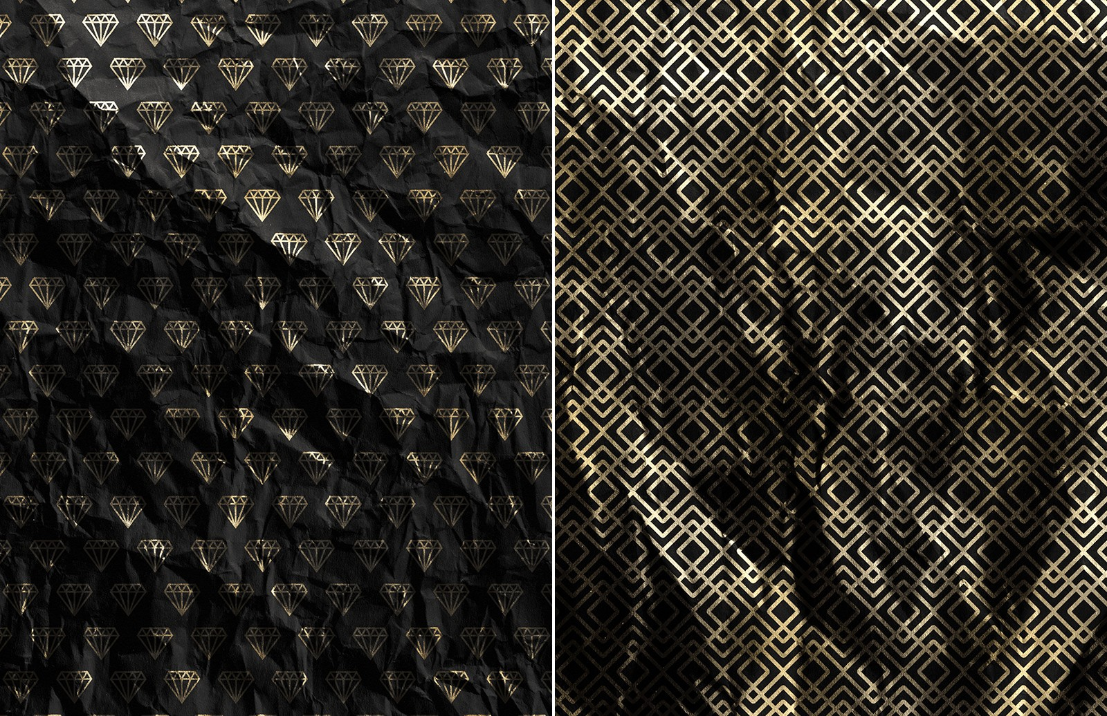Gold  Foil  Paper  Textures  Preview 6