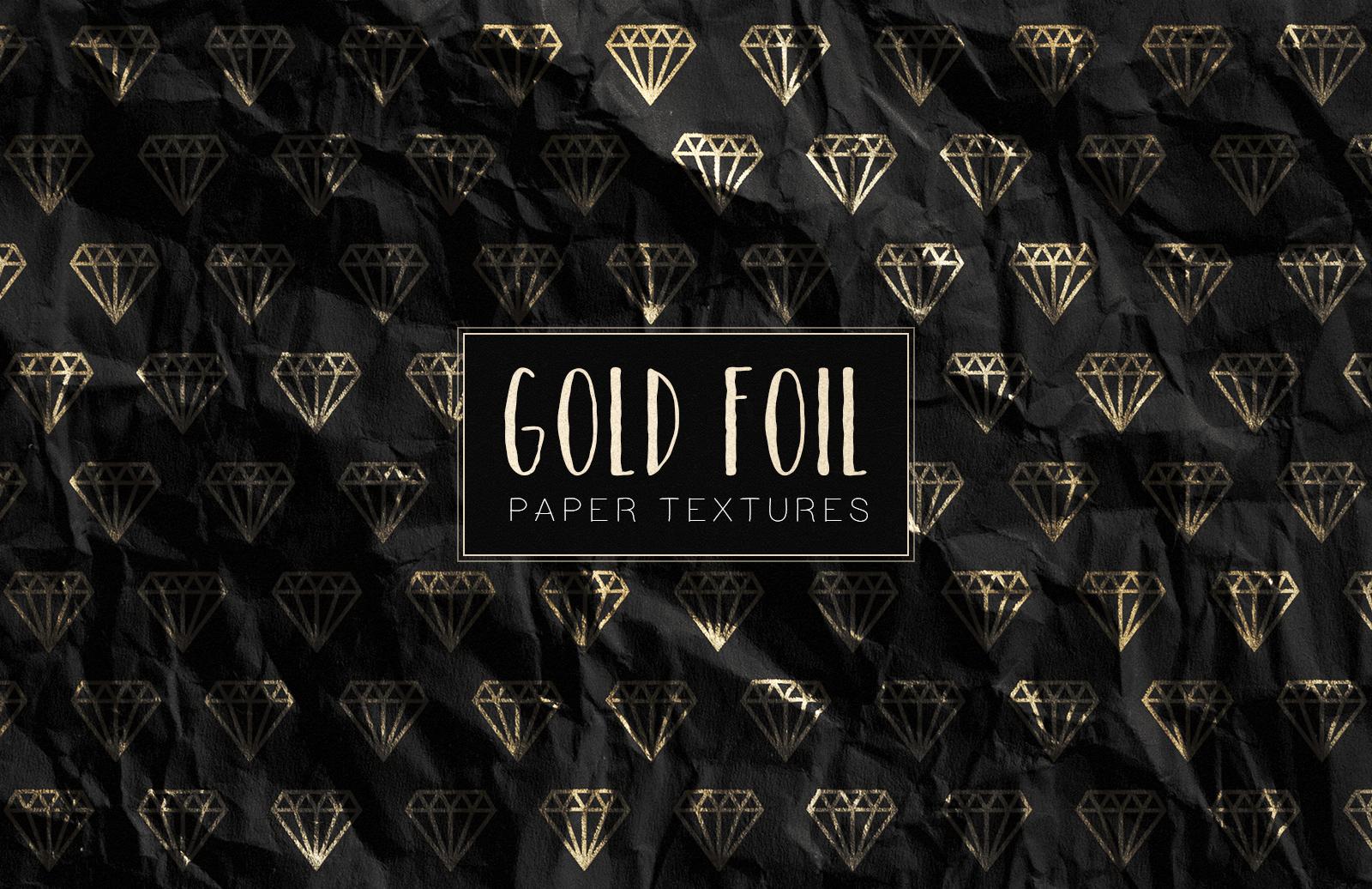 Gold  Foil  Paper  Textures  Preview 1