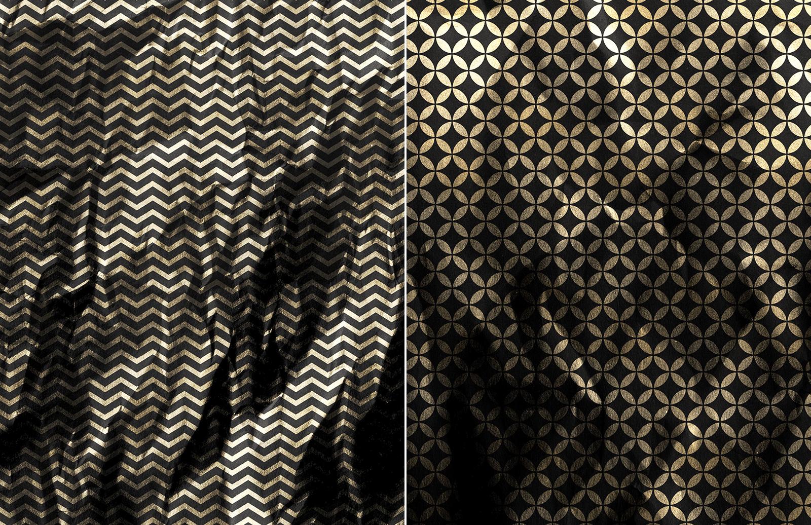 Gold  Foil  Paper  Textures  Preview 3