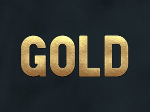 Gold Layer Styles for Photoshop 2