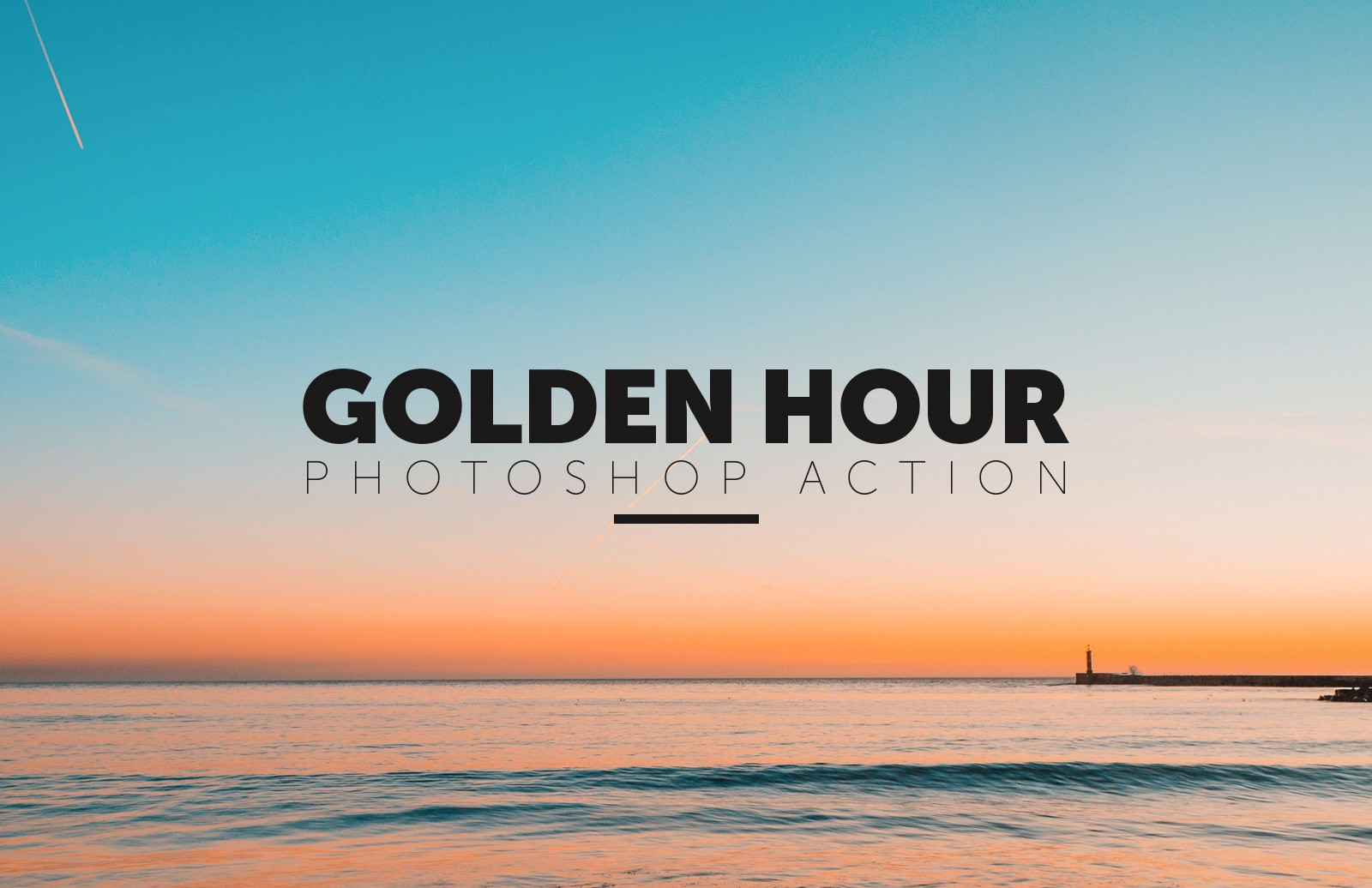 Golden Hour Photoshop Action Preview 1