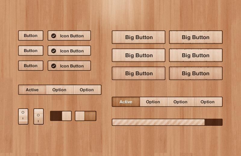 Got Wood UI Kit 2
