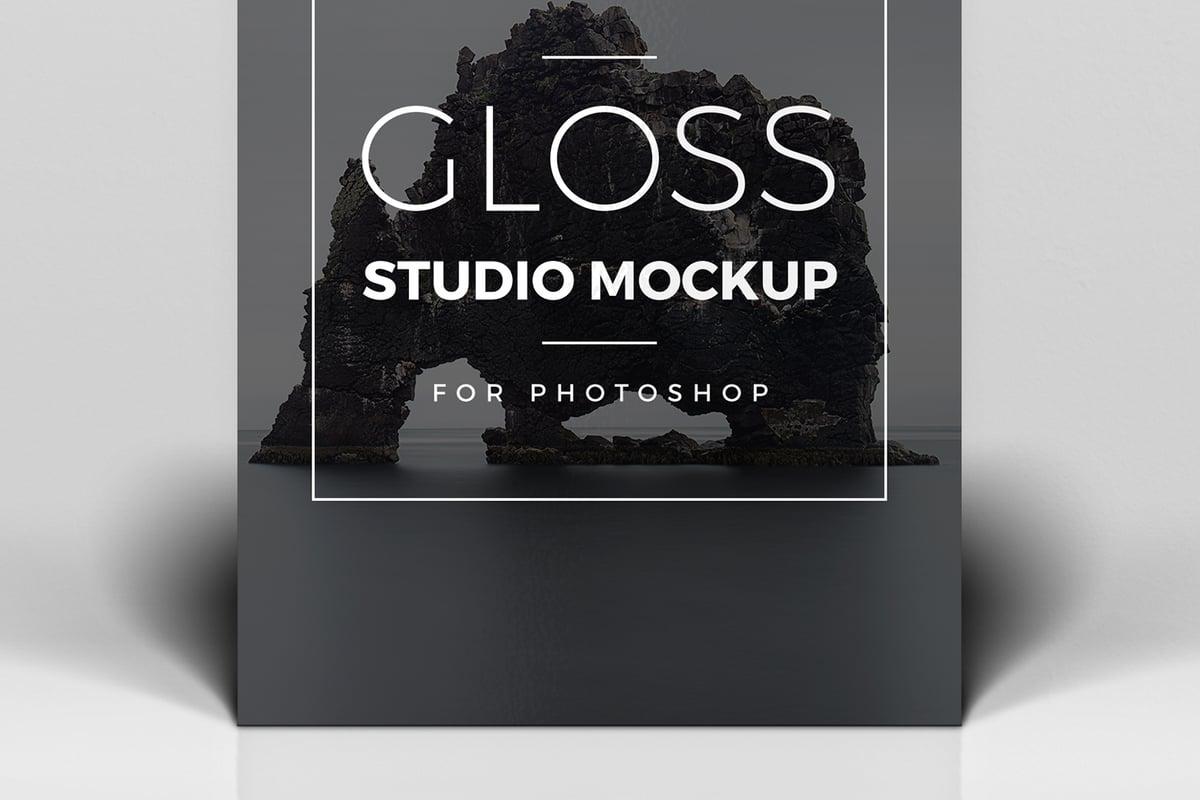Gloss Studio Mockup     Medialoot