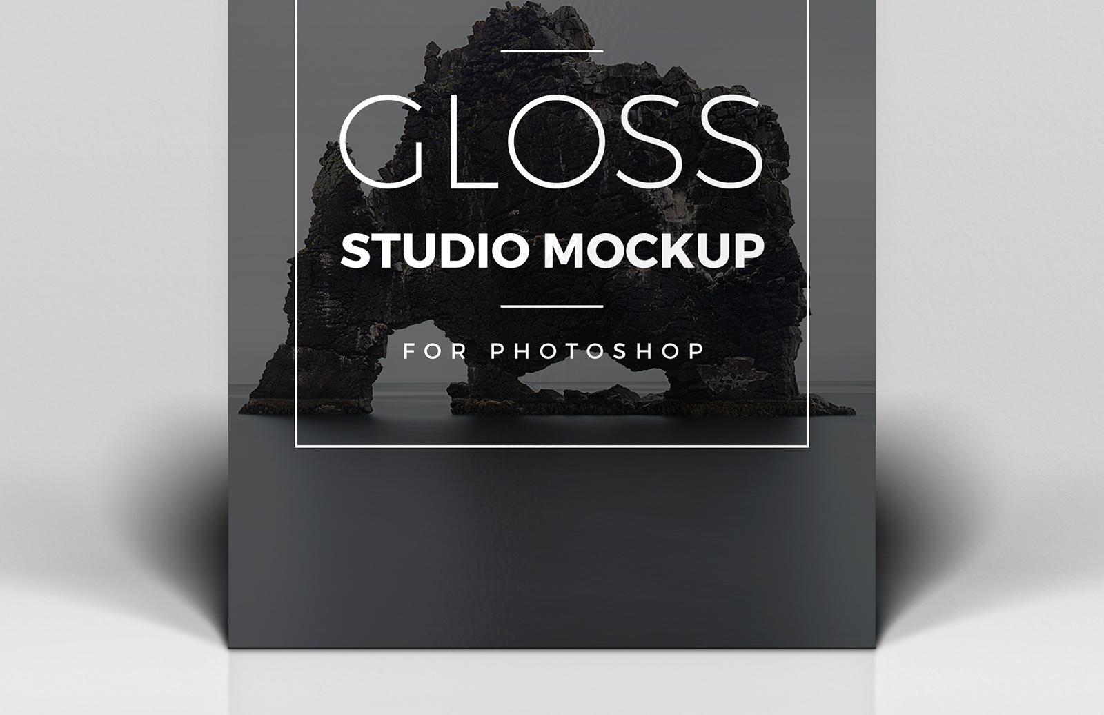 Gloss Studio Mockup