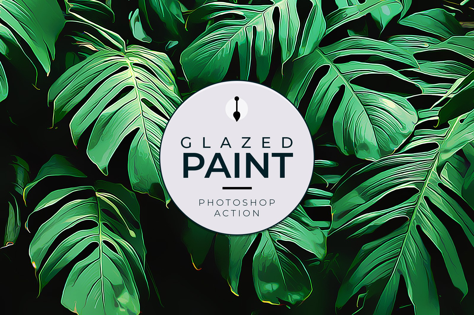 Glazed Paint Photoshop Action