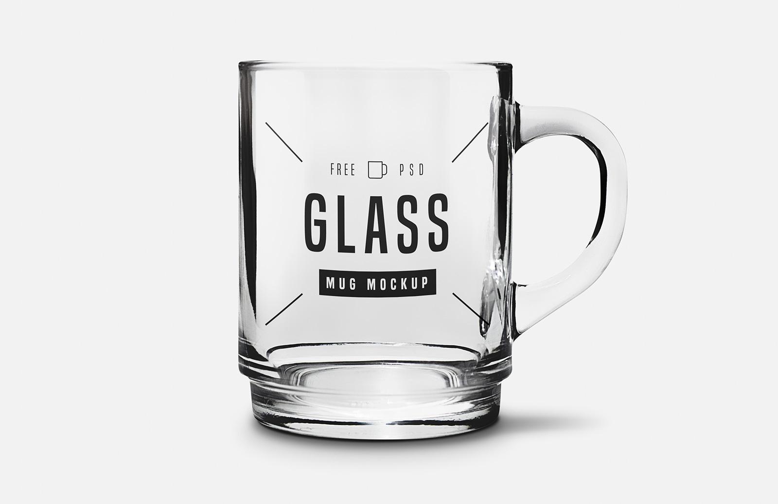 Glass Mug Mockup Preview 1