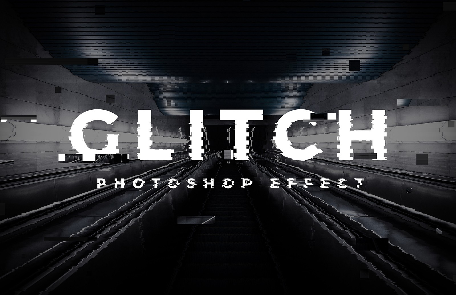 Glitch Image Effect Generator 2 Preview 1