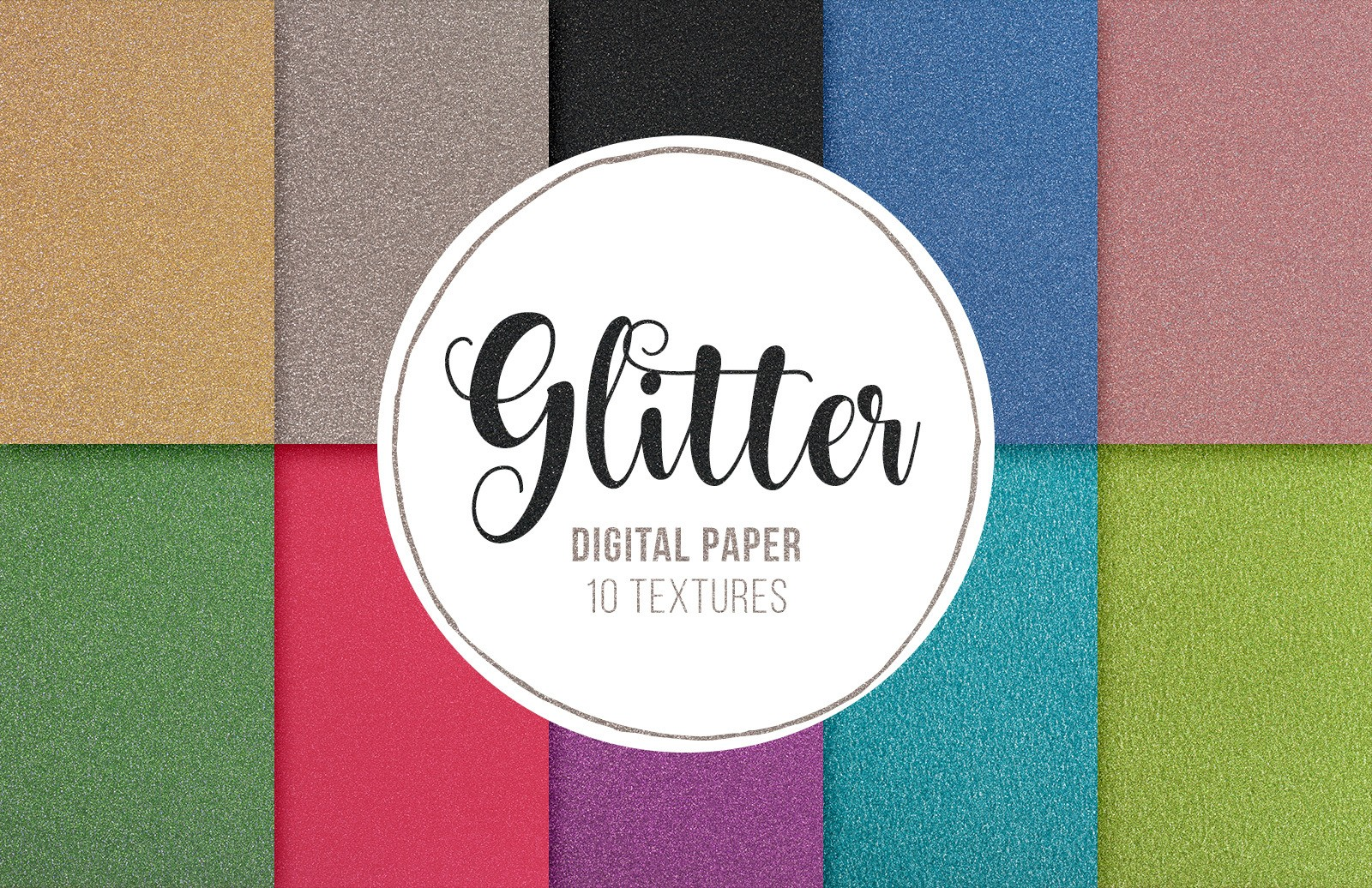 Glitter Paper Textures Preview 1