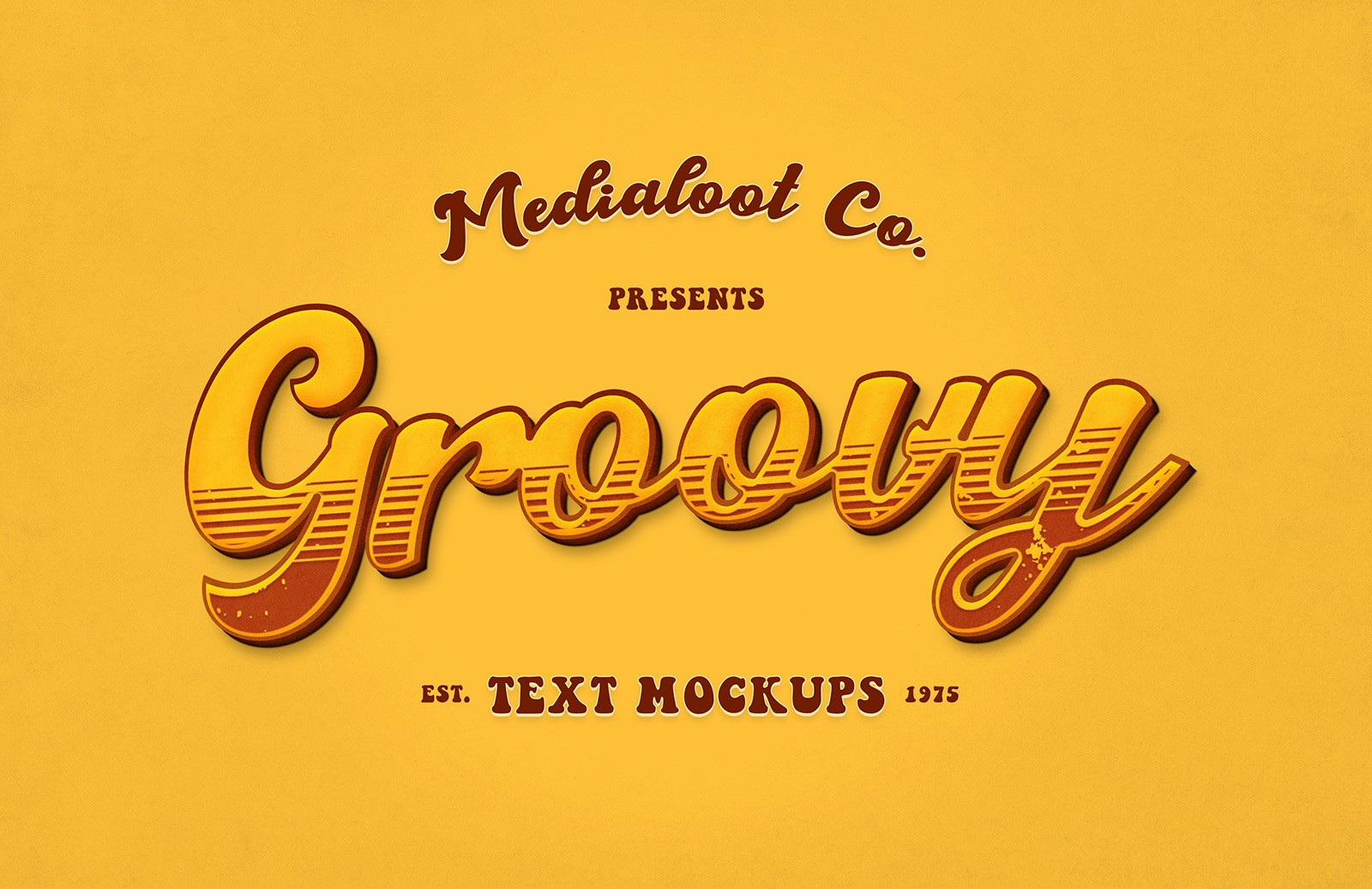 Groovy Text Mockups Preview 1