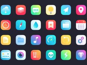 iOS 14 Gradient App Icons Set 2