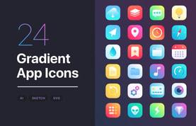 Gradient App Icons Set