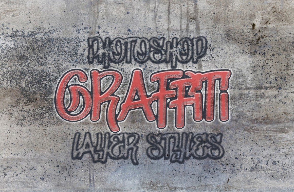 Graffiti Layer Styles for Photoshop