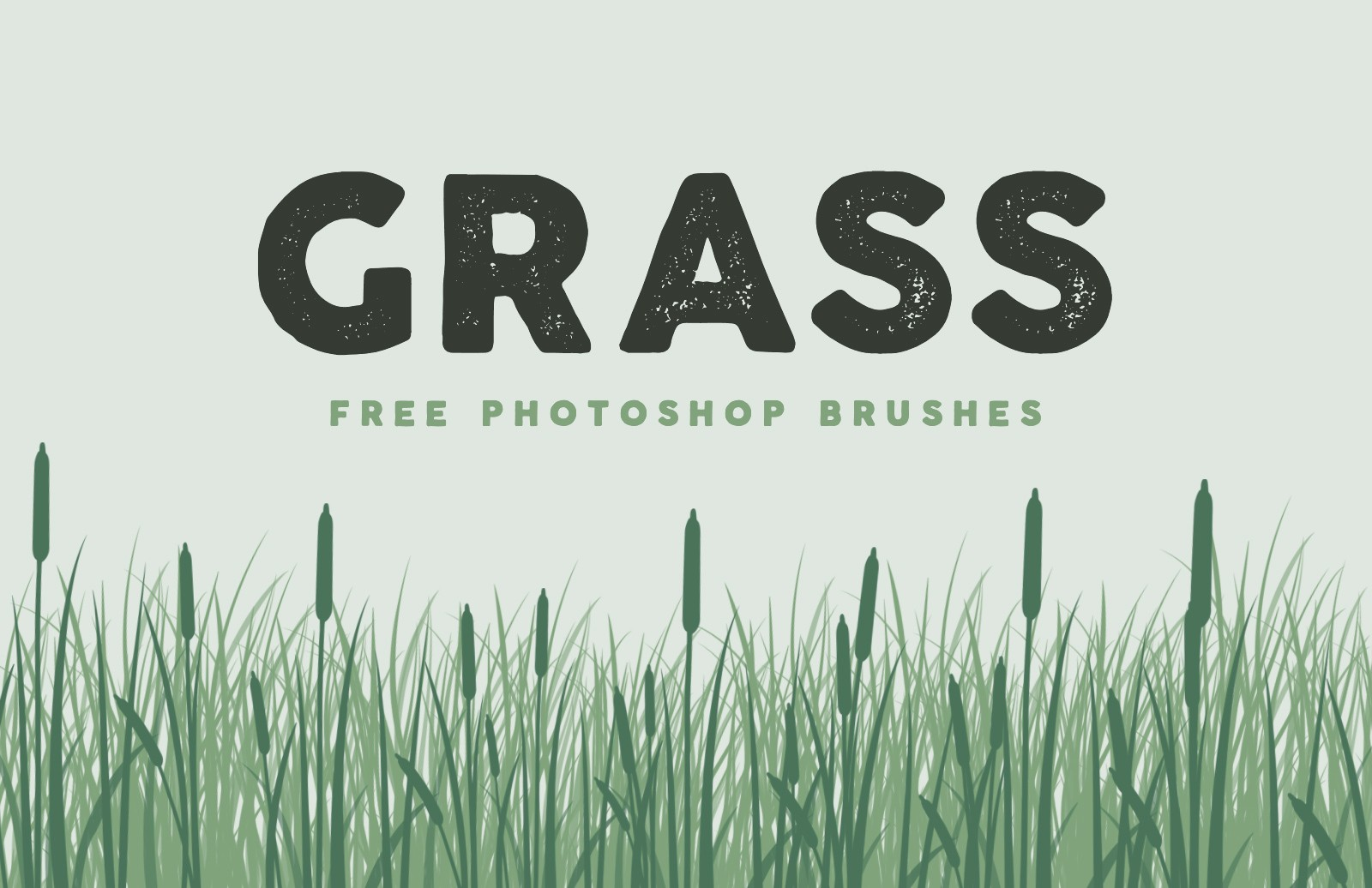 Free Grass Brushes for Photoshop