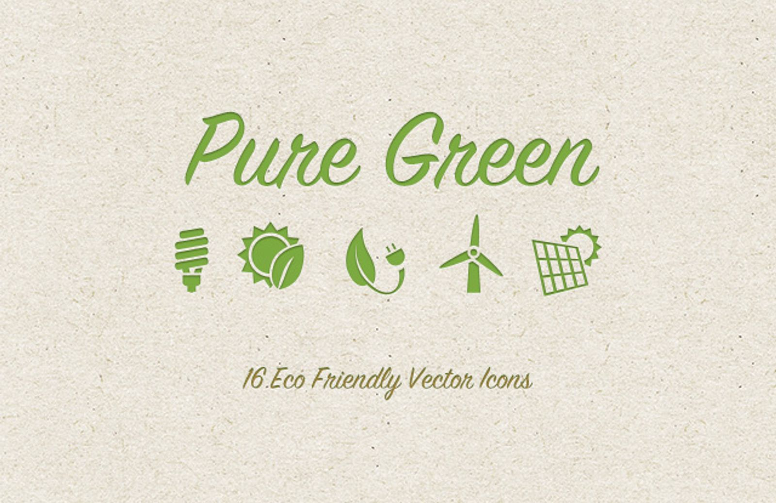 Green  Eco  Friendly  Icons  Preview1