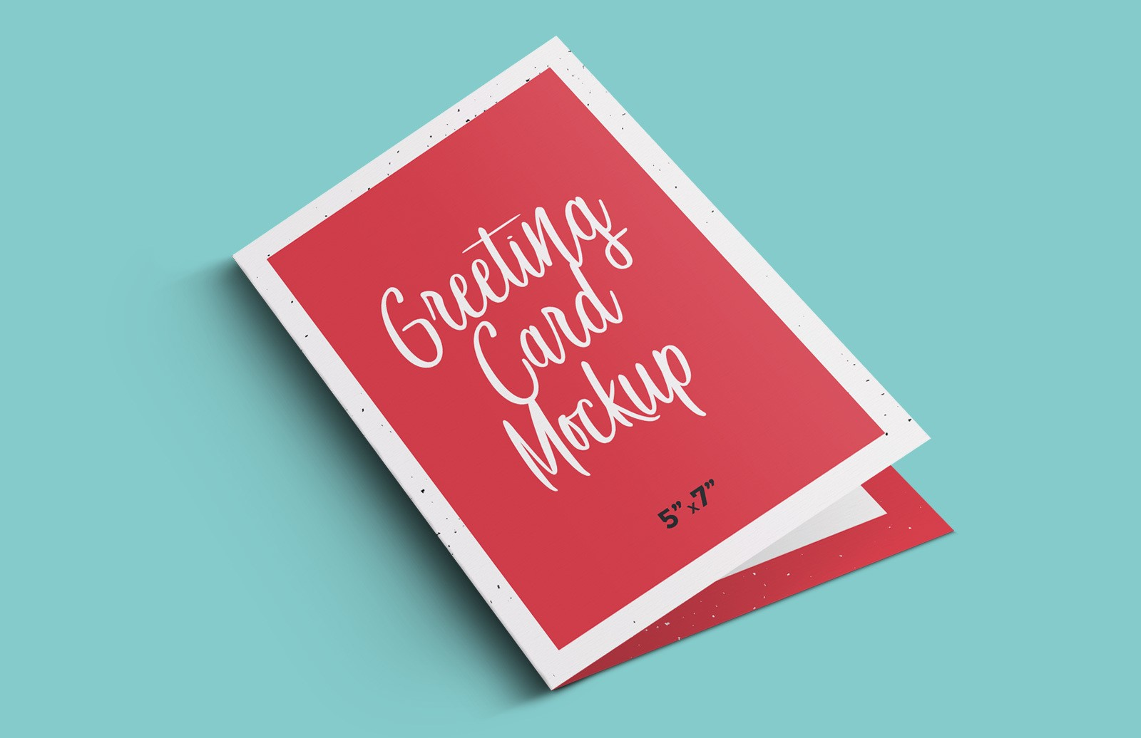 Greeting Card Mockup Preview 1D