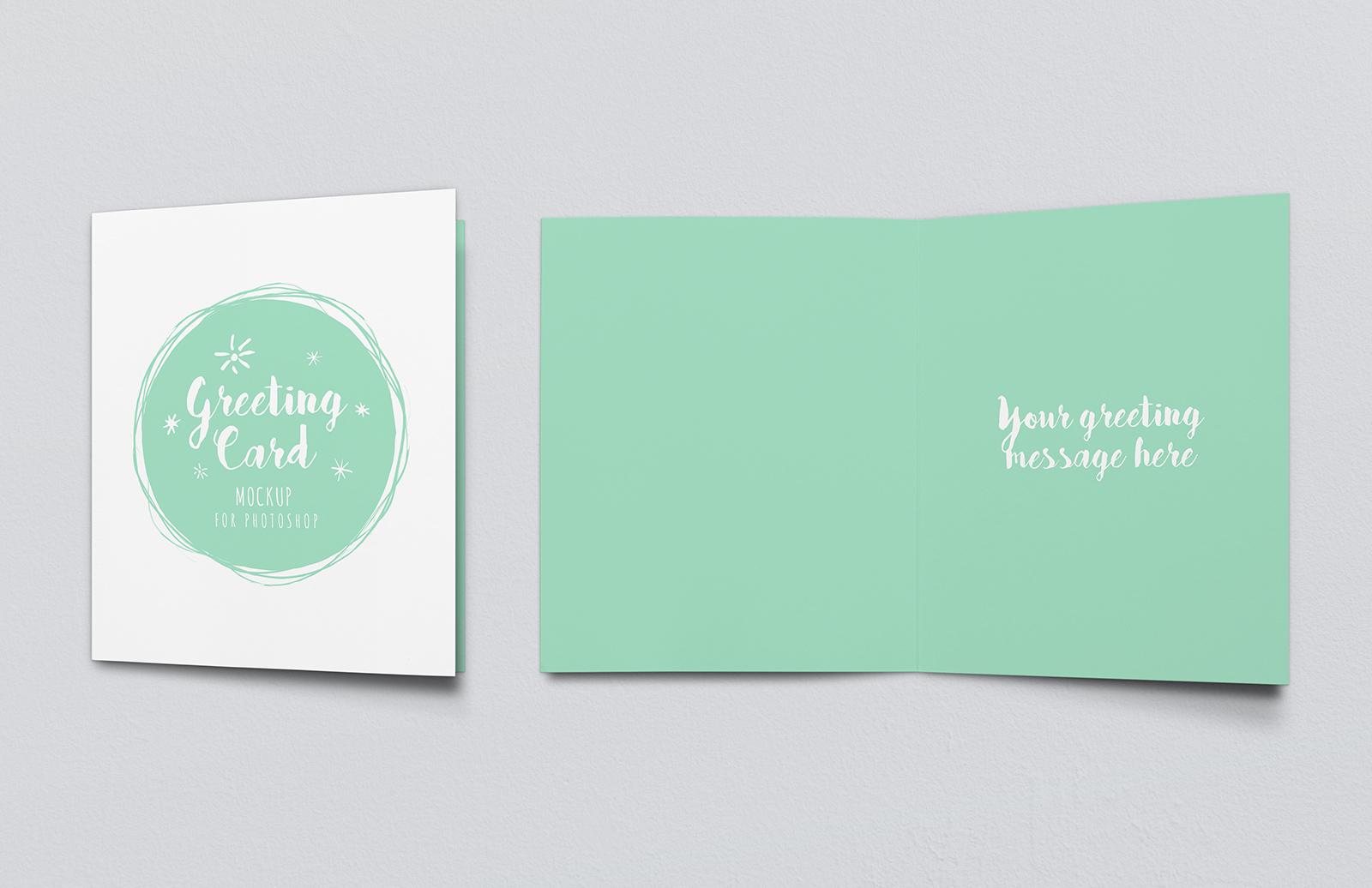 Greeting Card Mockup Vol 2 Preview 1